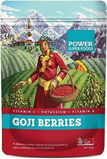 Power Super Foods Organic Goji Berries 250 g