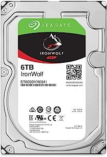 "Seagate ST6000VN001 IronWolf Internal Hard Drive, 6TB, 3.5"""