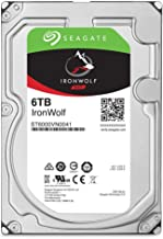 """Seagate IronWolf ST6000VN001 6 TB Hard Drive - 3.5"""" Internal - SATA (SATA/600) - Storage System Device Supported - 7200rpm..."""