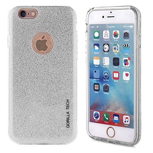 Gorilla Tech® - Carcasa de gel para iPhone 5, 5G y 5S, diseño de dama de honor, color blanco y cristal templado