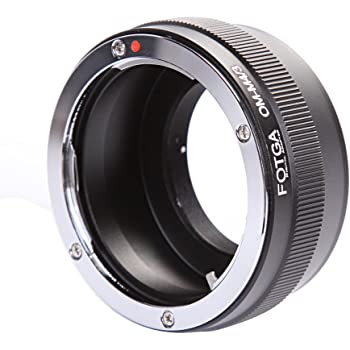 Haoge Manual Lens Mount Adapter for Olympus OM Zuiko Mount Lens to Olympus and Panasonic Micro Four Thirds MFT M4//3 M43 Mount Camera