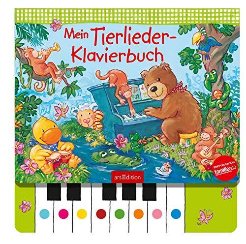 Mein Tierlieder-Klavierbuch: Lieblingslieder zum Selberspielen, interaktives Sound-Buch für Kinder ab 3 Jahren