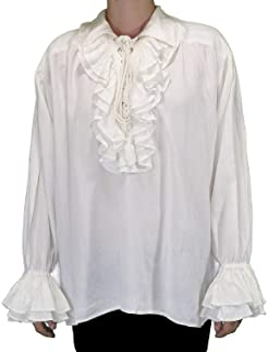 24473e8c0e1066 ThePirateDressing Medieval Poet's Pirate Captain Charles Vane Cosplay  Costume Shirt