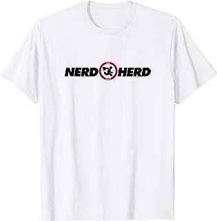 Chuck Nerd Herd Logo T Shirt T-Shirt