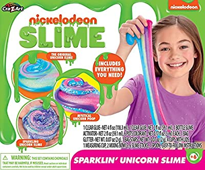 Nickelodeon Ultimate DIY Unicorn Arts & Crafts Slime Kit by Cra-Z-Art