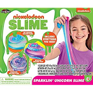 Cra-Z-Art 18873 Nickelodeon Ultimate DIY Unicorn Arts & Crafts Slime Kit,Multicolor