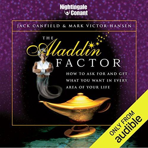 The Aladdin Factor audiobook cover art