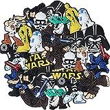 24 Pcs Star Wars PVC Shoe Charms Miotlsy-Adornos Para Zapatos Multicolor Pulsera Charms Favores De Fiesta,los mejores regalos para adultos, adolescentes, niños y niñas