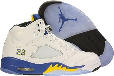 Nike Mens Air Jordan 10 Retro 30th Lady Liberty Dust/Metallic Gold-Black-Retro Leather Basketball Shoes