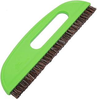 Cabilock 2 st hästhår tapeter utjämningsborste tapeter klister borstar för gör-det-själv (grön)