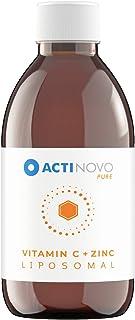 Cinc + Vitamina C Liposomal | alta concentración | para tu sistema inmunológico | 200 ml | dosis diaria 1000 mg