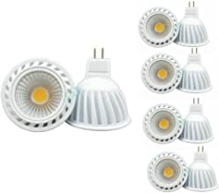 CYLED 5W Mr16 Cob Led Lamps, 50W Halogen Lamp Equivalent, 400Lm, Warm White, 3000K, 45 Beam Angle, Led Spot Light Bulbs,Pa...