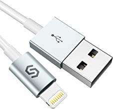 Syncwire Cable Lightning Cable Cargador iPhone - [Apple MFi Certificado] Cable iPhone Compatible con iPhone XS MAX XR X 8 Plus 7 Plus 6S 6 Plus 5 5S 5C SE iPad iPod Blanco 1M