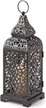 Smart Living Company Black Moroccan Candle Lantern