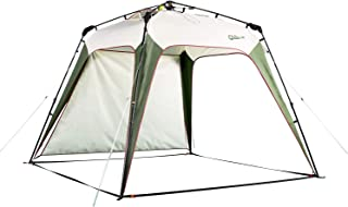 QUICK-UP Beach Canopy Tent UV Sun Shelter Shade Instant Quick Easy Set Up, Portable Pop Up Sunshade Tents, with UV Protection and One Shade Wall Included for Family - 8.2' × 8.2'