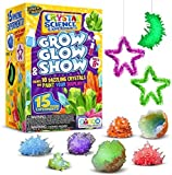 Learn & Climb Crystal Growing kit for Kids. Science Experiment Kit - 10 Crystals! Great Crafts Gift for Girls and Boys Ages 6,7,8,9,10