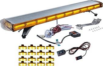 47 inch Emergency Warning Truck Strobe Tow Light Bar Roof Law Enforcement Emergency Hazard Warning (47