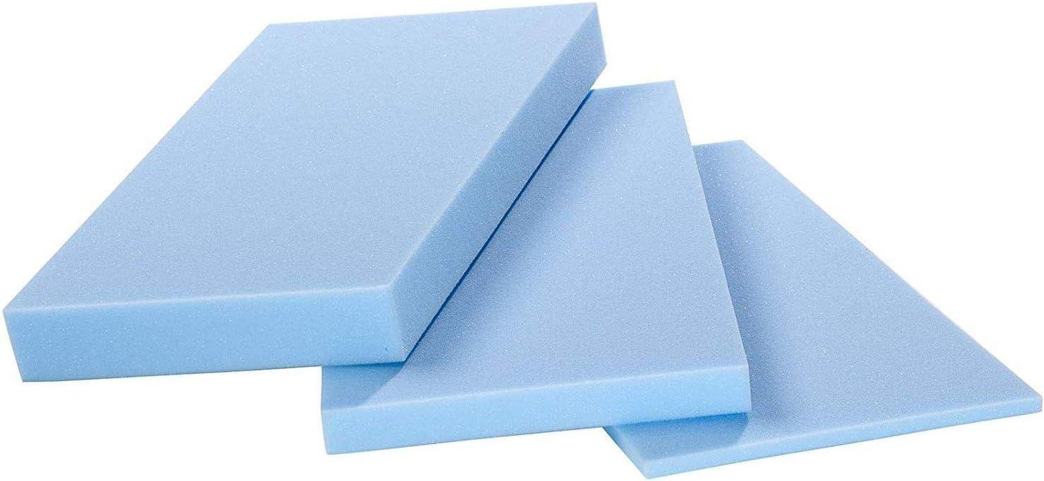 Schaumstoffzuschnitt cm 200x150x 1 Comfort Schaumstoff Weiss RG35//50 Schaumstoffplatten in verschiedenen St/ärken