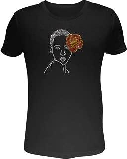 Best rhinestone afro t shirt Reviews