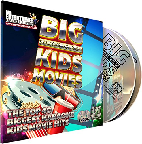 Mr Entertainer Big Karaoke Hits of Kids Movies CDG Pack. 40 Top-Songs. Sing the Songs of Disney und mehr Kinderfilme