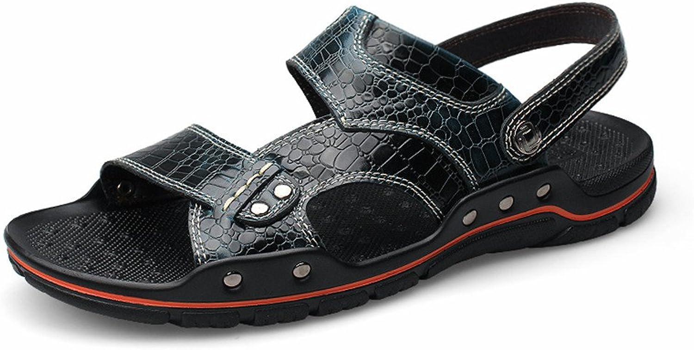 Sandalen Herren Sport Sandalen Sommer Outdoor Herren Herren Herren Sport Sandalen Outdoor Wasser Schuhe Wandern Licht Bequeme Hausschuhe Sandalen (Farbe   Marine, Größe   42 EU)  6dce2e