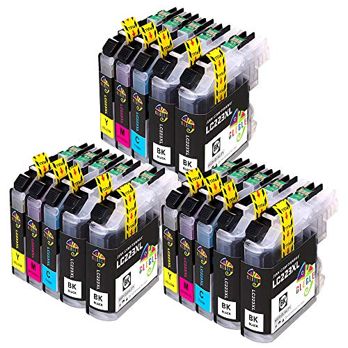 GLEGLE LC223XL Cartuchos Tinta Brother 15 Multipack Reemplazo para LC223 Compatible con Brother MFC-J5320DW J4420DW J4620DW J4625DW J480DW J5620DW J5625DW J5720DW J680DW J880DW DCP-J4120DW DCP-J562DW