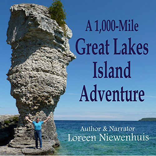 A 1000-Mile Great Lakes Island Adventure audiobook cover art