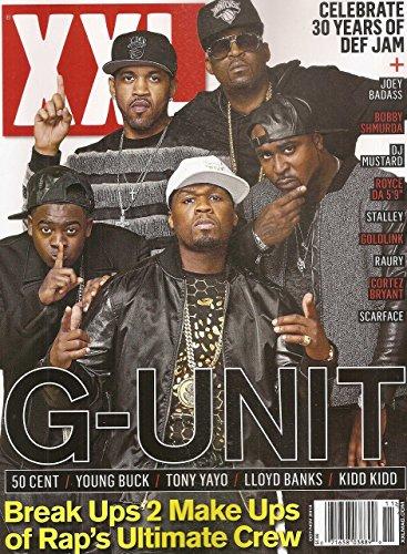 XXL Magazine November 2014 - G-Unit - 50 Cent - Young Buck - Tony Nayo - Lloyd Banks - Kidd Kidd