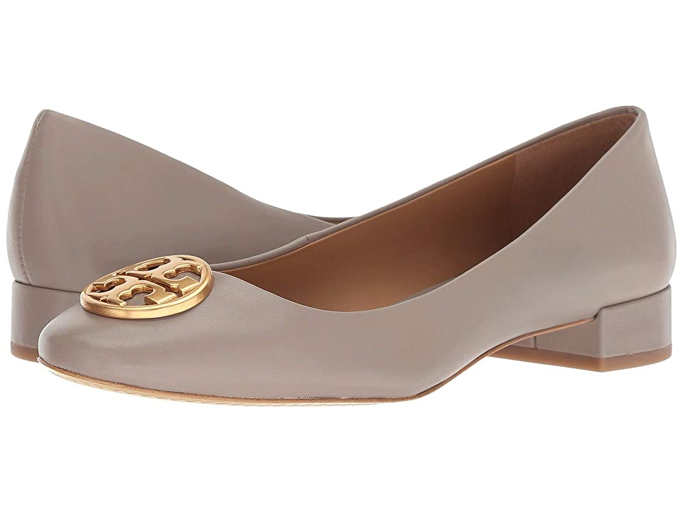 Tory Burch Chelsea 25mm Ballet Flat (Dust Storm) Women