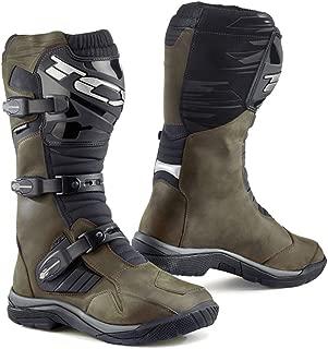TCX Baja Waterproof Adventure Motorcycle Boots Brown EU40/US7 (More Size Options)