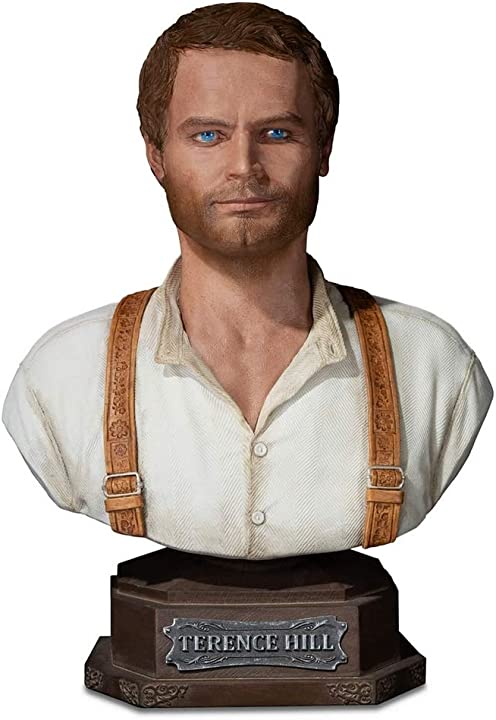 Busto terence hill supacraft collectible bust, terence hill 1/4 (2020) SCD400003