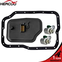 HERCOO 4F27E/FN4A-EL Transmission Shift Solenoid Kit with Filter Gasket XS4Z-7A098AB/FN01-21-500 Compatible with Ford Focus/Transit Connect, Mazda 3 5 6