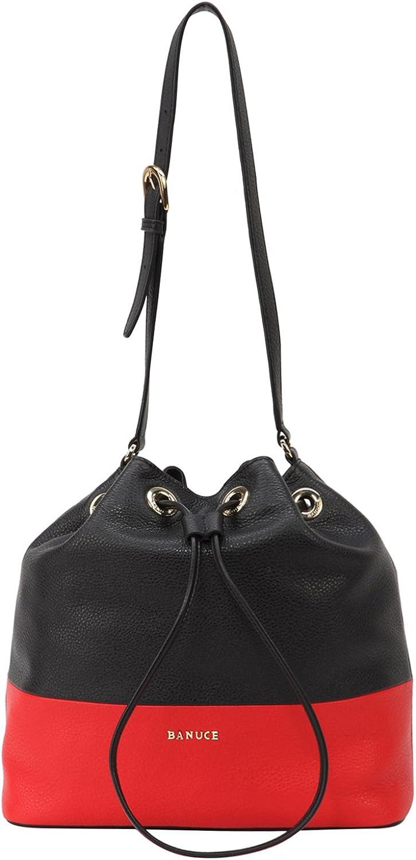 Banuce Top It is very popular Grain Leather Shoulder Women Max 88% OFF Handbags for Satchel Bag