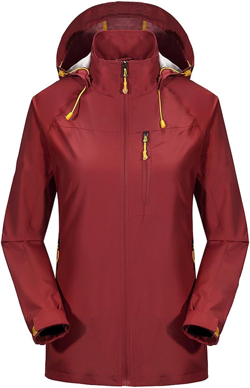 IiSPORT Women's Waterproof Breathable Outdoor Softshell Hooded Jacket