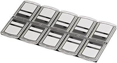 Domybest 8 en 1 /Étui de Transport pour Carte M/émoire Bo/îte Rangement de Cartes M/émoire Cartes de Jeux /Étui de Protection en Plastique pour Sony PS Vita