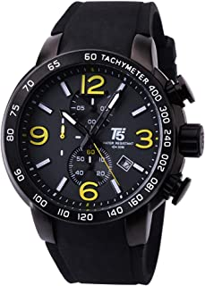 T5 Watch for Men, Rubber Band, Chronograph, H3450G-B