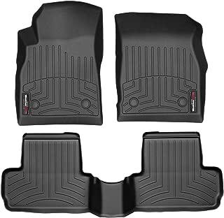 WeatherTech Custom Fit FloorLiner for Buick Verano - 1st & 2nd Row (Black)