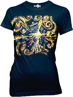 Ripple Junction Doctor Who Van Gogh Pandoric Juniors T-Shirt