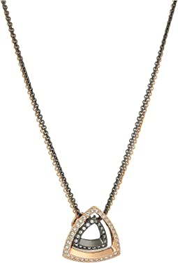 Swarovski - Lovesome Triangle Pendant Necklace