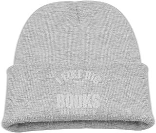 ADGoods Kids Children I Like Big Books and I Cannot Lie Beanie Hat Knitted Beanie Knit Beanie For Boys Girls Gorra de béis...