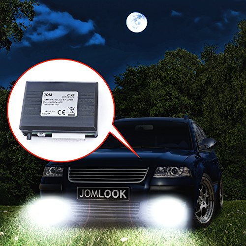 JOM Car Parts & Car Hifi GmbH 7120 Coming Home Modul universal, mit Lichtsensor, einstellbar von 12-22 Sek.