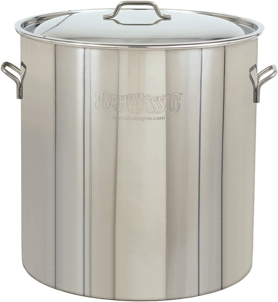 Indefinitely Bayou Max 65% OFF Classic 1062 Stainless Stockpot Steel 162-Quart
