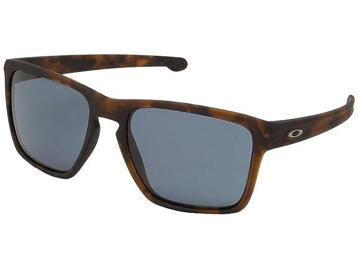 Oakley Sliver XL (Matte Brown Tortoise w/ Prizm Grey) Fashion Sunglasses