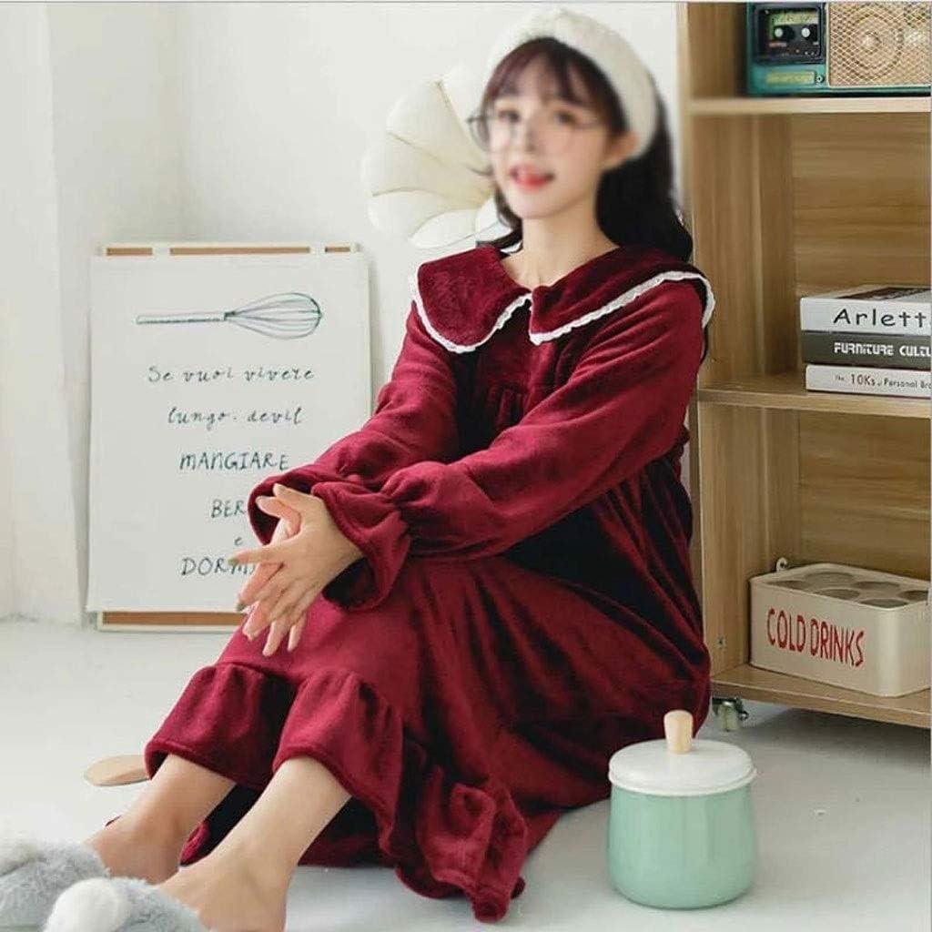 JYDQM Ruffle Lower Large-scale sale Hem Bath Industry No. 1 Robe Flannel Red Women Bathrobe Pink