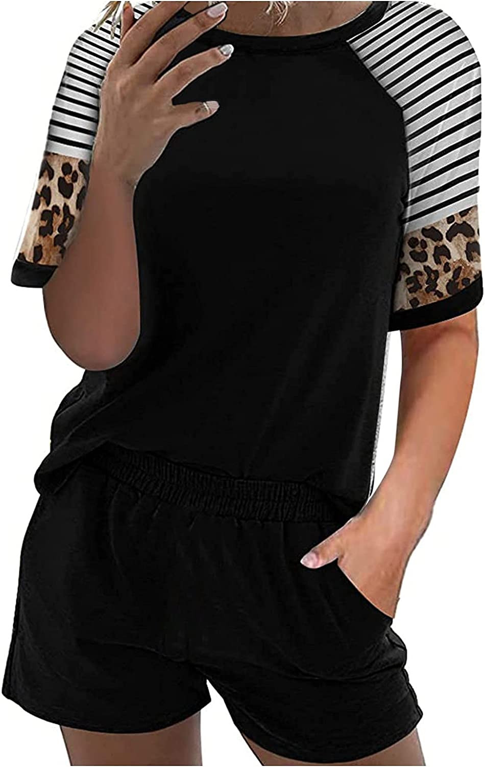 Max 61% OFF Women's Loungewear Athletic Tracksuits 2021 autumn and winter new Pockets: Short with