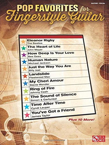 Pop Favorites For Fingerstyle Guitar: Songbook für Gitarre