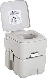 kleankin Inodoro Portátil Químico Baño WC 20L con Tapa
