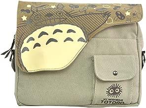 Anime Theme Shoulder bags Attack on Titan One Piece Naruto Totoro Black Butler Cross body Handbags