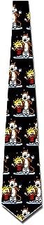 ONESEDA Men's Calvin And Hobbes Tie Necktie Ties