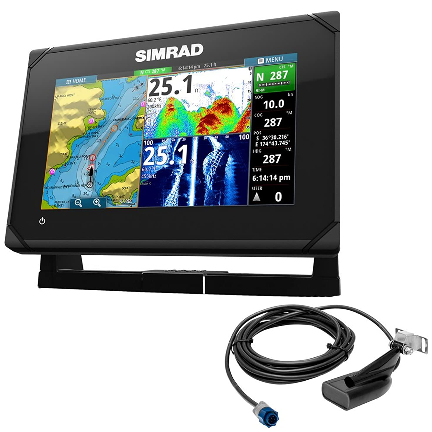 Simrad Go7 Xse Chartplotter With Med/High/Downscan T/M 000-12672-001